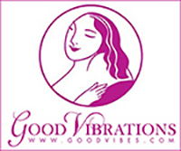 Goodvibes logo link to online store